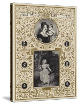 Hrh Princess Victoria--Stretched Canvas Print