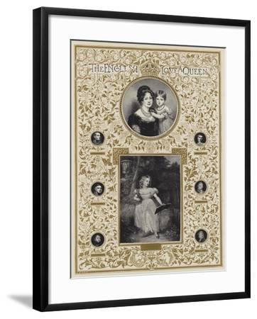 Hrh Princess Victoria--Framed Giclee Print