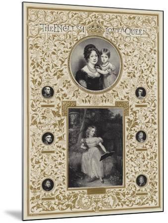 Hrh Princess Victoria--Mounted Giclee Print