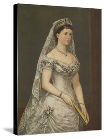 The Duchess of Albany--Stretched Canvas Print