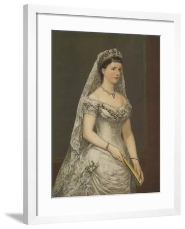 The Duchess of Albany--Framed Giclee Print