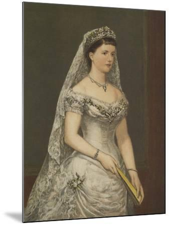 The Duchess of Albany--Mounted Giclee Print