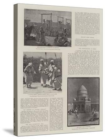 The Soudan Rebellion--Stretched Canvas Print