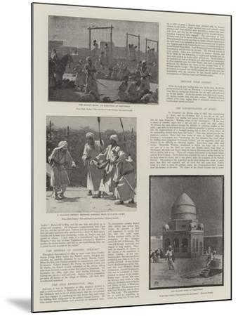 The Soudan Rebellion--Mounted Giclee Print