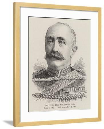 Colonel Ben Williams--Framed Giclee Print