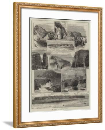 A Visit to Heligoland--Framed Giclee Print