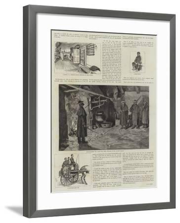 Boycotting in Ireland--Framed Giclee Print