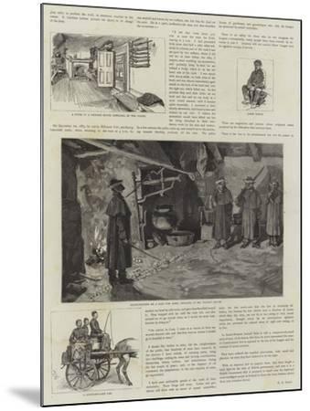 Boycotting in Ireland--Mounted Giclee Print