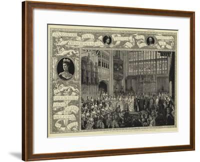 Albert and Alexandra--Framed Giclee Print