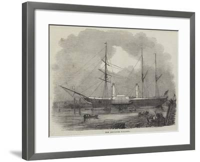 The Bentinck Steamer--Framed Giclee Print