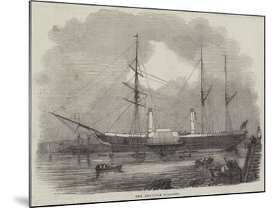 The Bentinck Steamer--Mounted Giclee Print