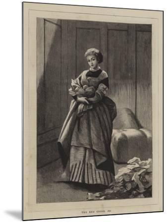 The Red Cross, 1870--Mounted Giclee Print