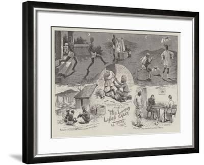 The Looted Linen Chest--Framed Giclee Print
