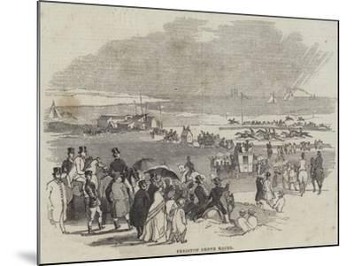 Freiston Shore Races--Mounted Giclee Print
