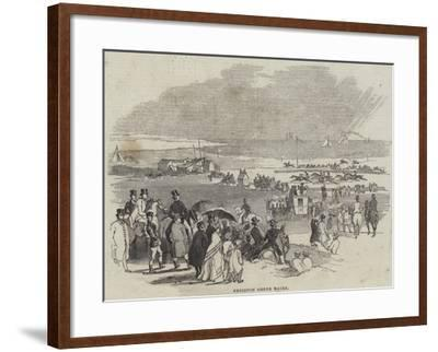 Freiston Shore Races--Framed Giclee Print