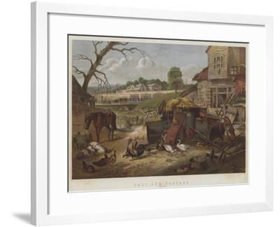 Past and Present--Framed Giclee Print