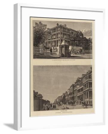 Sydney Illustrated--Framed Giclee Print