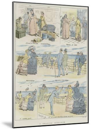 A Seaside Romance--Mounted Giclee Print