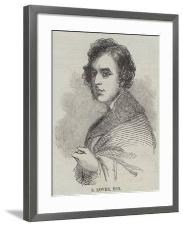 S Lover, Esquire--Framed Giclee Print