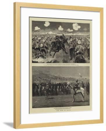 The War in Egypt--Framed Giclee Print
