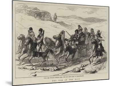 The War in the East--Mounted Giclee Print