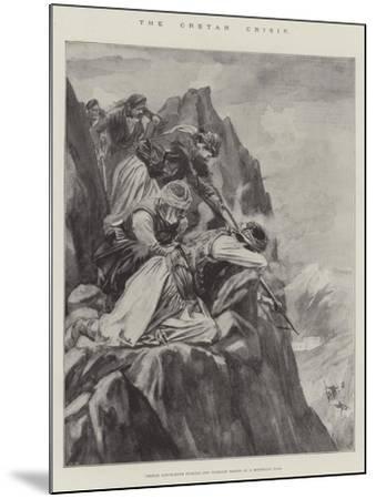 The Cretan Crisis--Mounted Giclee Print
