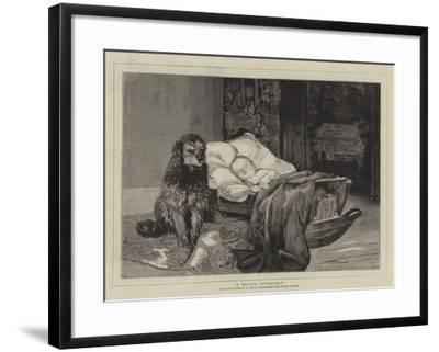 A Trusty Attendant--Framed Giclee Print