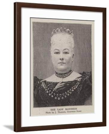 The Lady Mayoress--Framed Giclee Print
