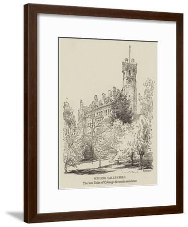 Schloss Callenberg--Framed Giclee Print