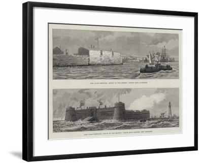 Mouth of the Mersey--Framed Giclee Print