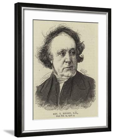 Reverend T Binney--Framed Giclee Print