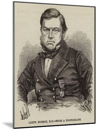 Lieutenant Hobson--Mounted Giclee Print