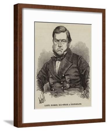 Lieutenant Hobson--Framed Giclee Print