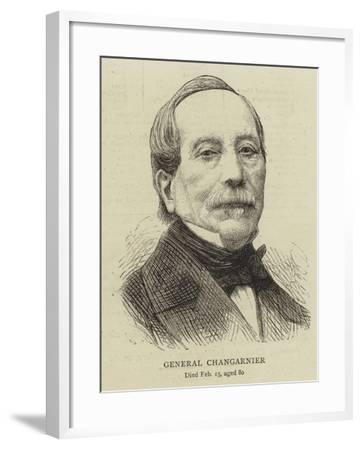 General Changarnier--Framed Giclee Print