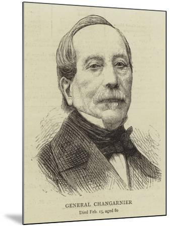 General Changarnier--Mounted Giclee Print