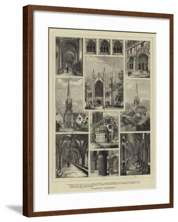 Norwich Cathedral--Framed Giclee Print