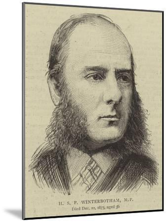 H S P Winterbotham--Mounted Giclee Print