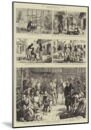 The Ashantee War--Mounted Giclee Print