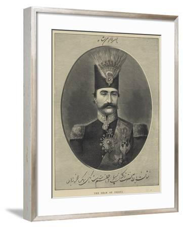 The Shah of Persia--Framed Giclee Print