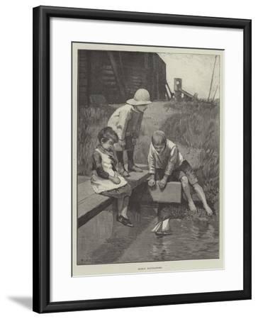 Early Navigators--Framed Giclee Print