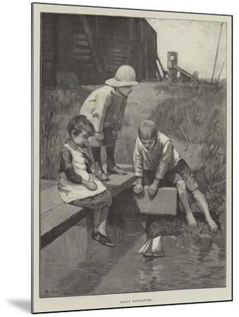 Early Navigators--Mounted Giclee Print