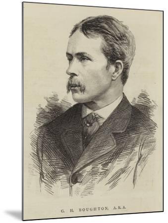 G H Boughton, Ara--Mounted Giclee Print