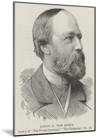Baron G Von Moser--Mounted Giclee Print