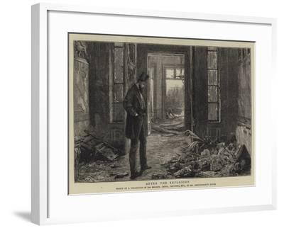 After the Explosion--Framed Giclee Print