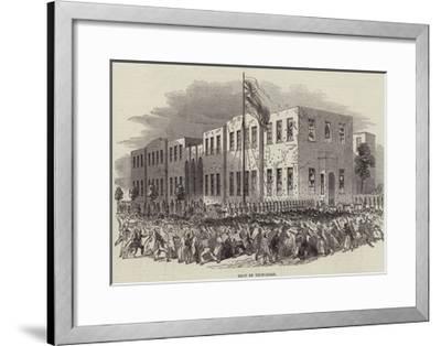 Riot in Trinidad--Framed Giclee Print