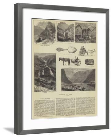 Norway in June--Framed Giclee Print