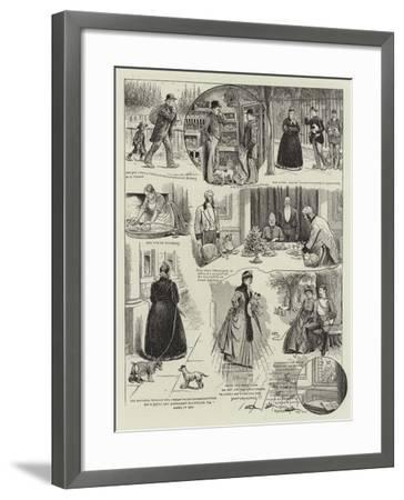 Tale of a Dog--Framed Giclee Print
