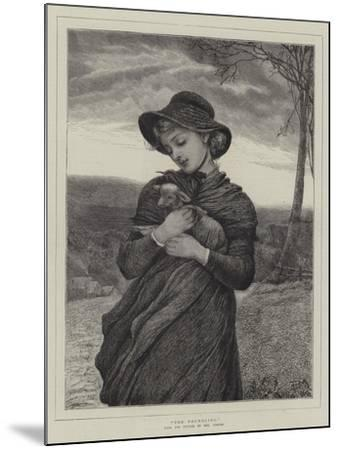 The Foundling--Mounted Giclee Print