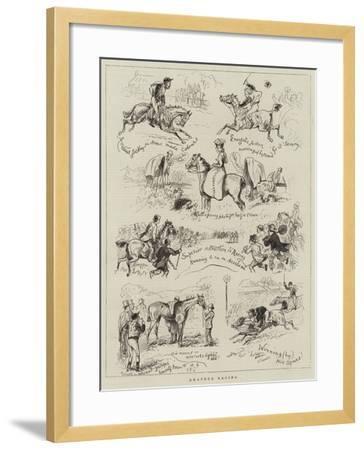 Amateur Racing--Framed Giclee Print