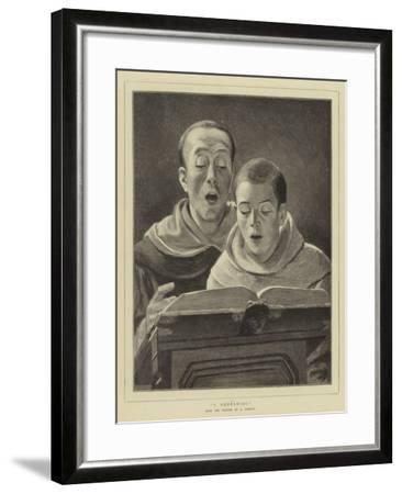 A Rehearsal--Framed Giclee Print